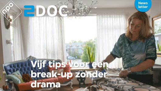 NPO 2 'Vijf tips voor een break-up zonder drama'